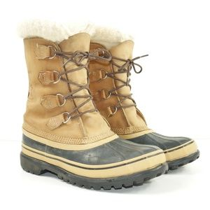 Sorel Kaufman Caribou Waterproof Winter Snow Boots